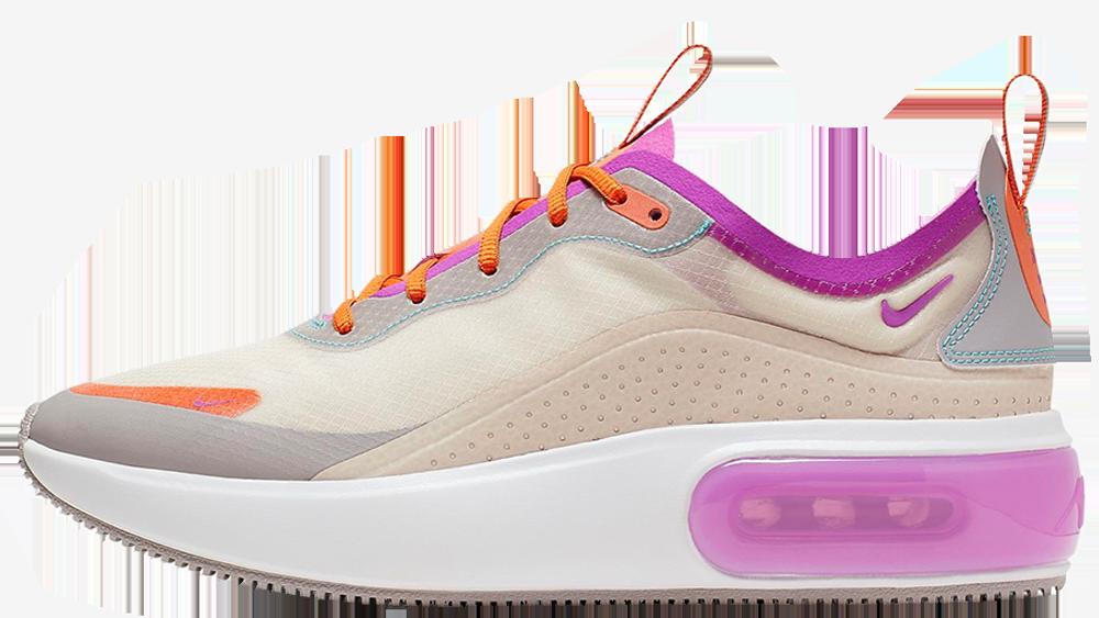 Nike Air Max Dia Light Orewood Brown Starfish Atmosphere Grey Hyper Violet