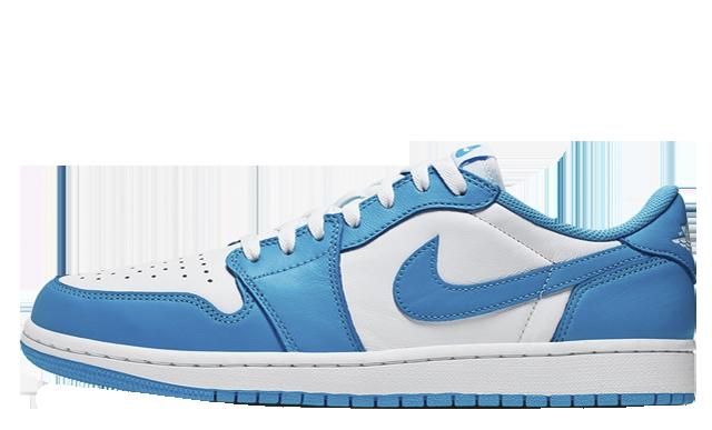 low priced 9ed7b 11dbf Nike SB Air Jordan 1 Low UNC Powder Blue | CJ7891-401