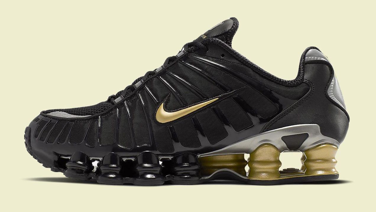 Nike Shox TL Neymar Jr. Metallic Gold Black
