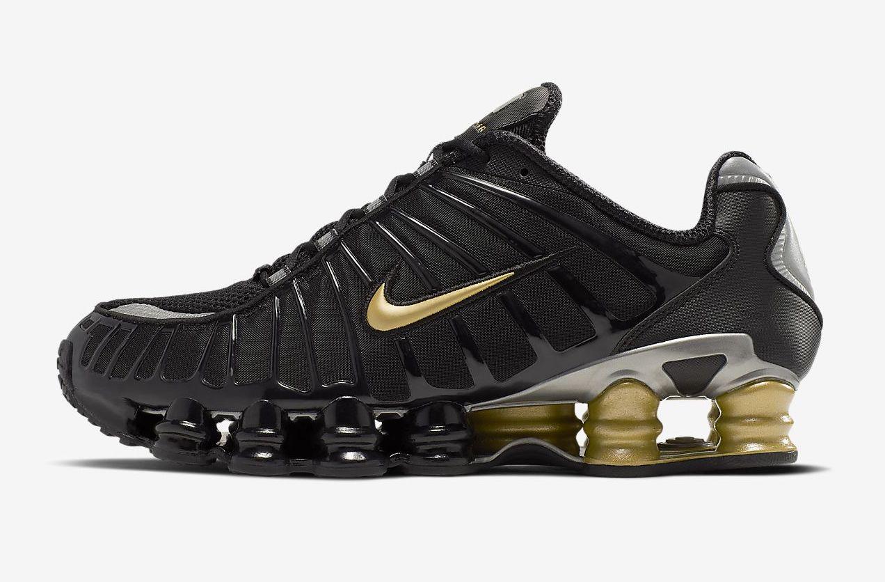 Nike Shox TL. Neymar Jr. Metallic Gold