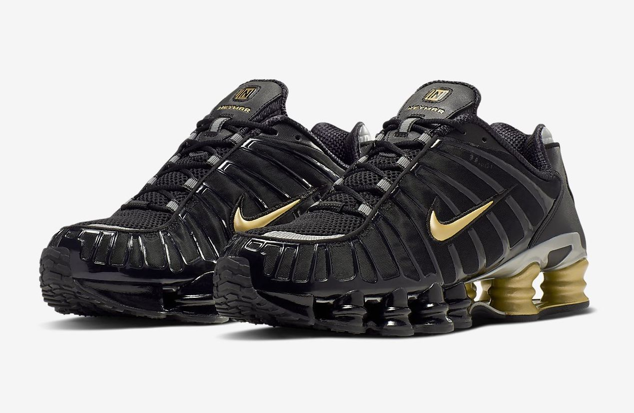 Nike Shox TL Neymar Jr. Metallic Gold