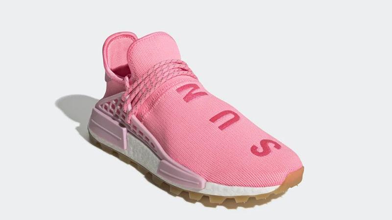 promo code f557a a3403 Pharrell Williams x adidas NMD Hu Pink | EG7740