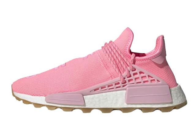 Pharrell Williams x adidas NMD Hu Pink EG7740