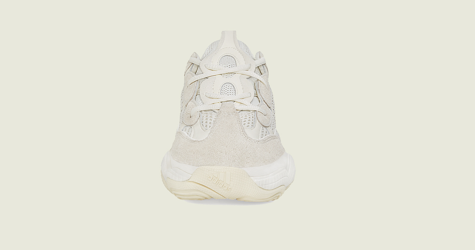 Yeezy 500 Bone White front