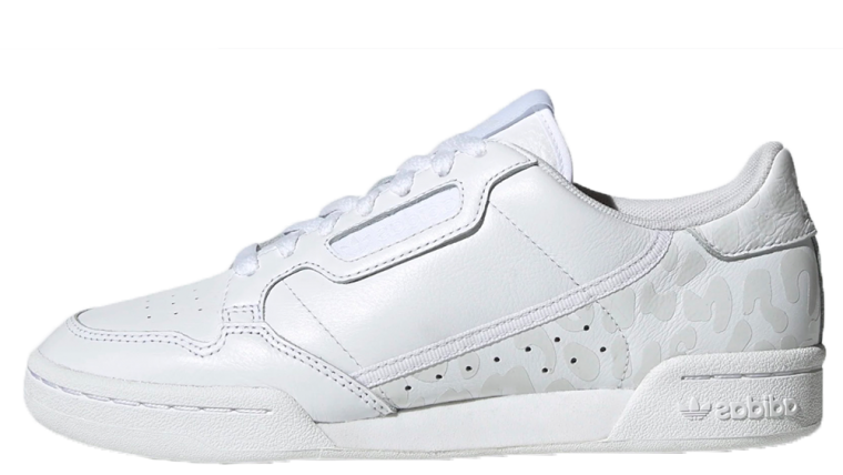 adidas Continental 80 White Leopard