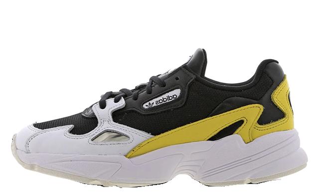 adidas Falcon Black Yellow