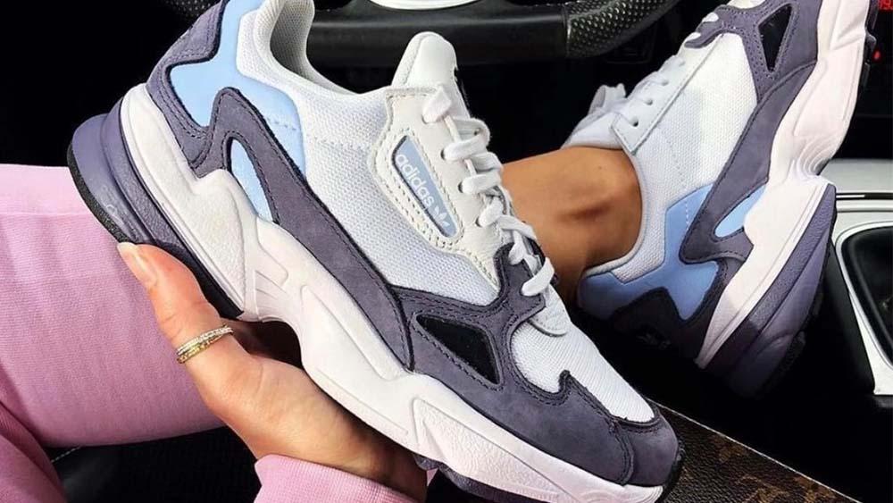 adidas Falcon Blue Purple