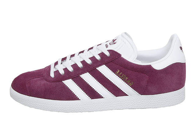 adidas Gazelle Burgundy White