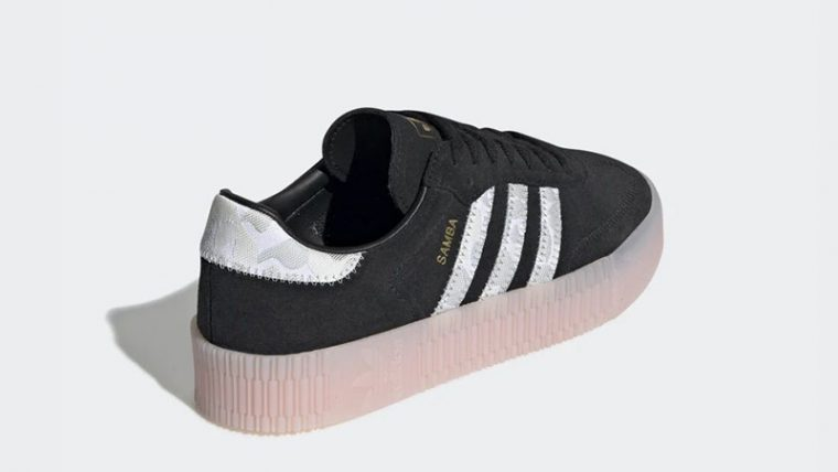 adidas Sambarose Black Pink EE4678 back thumbnail image