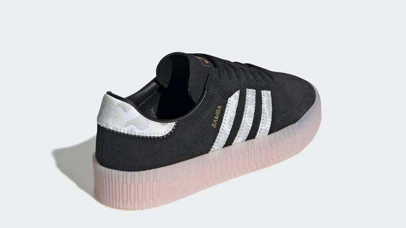 adidas Sambarose Black Pink EE4678 back