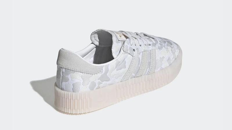 adidas Sambarose White Camo EE4676 back