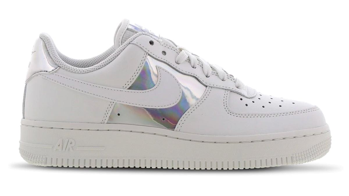 Nike Air Force 1 Holographic Silver