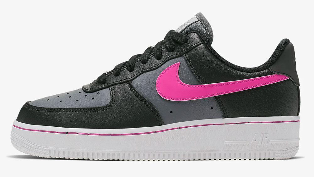 Nike Air Force 1 Black Pink