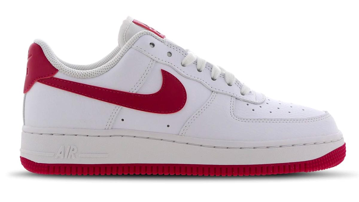 Nike Air Force 1 Wild Berry White
