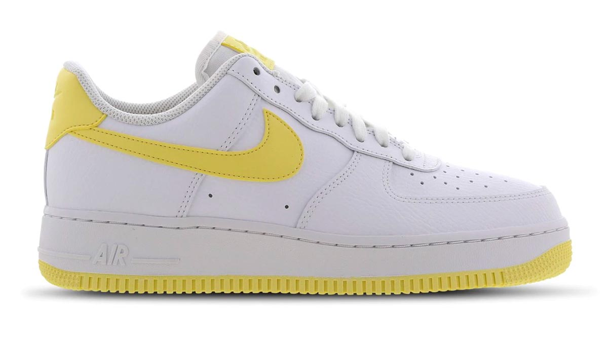 Nike Air Force 1 White Bicycle Yellow