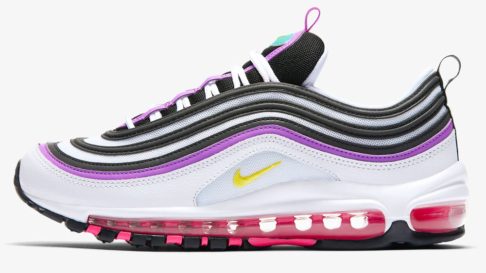 Nike Air Max 97 Purple Yellow