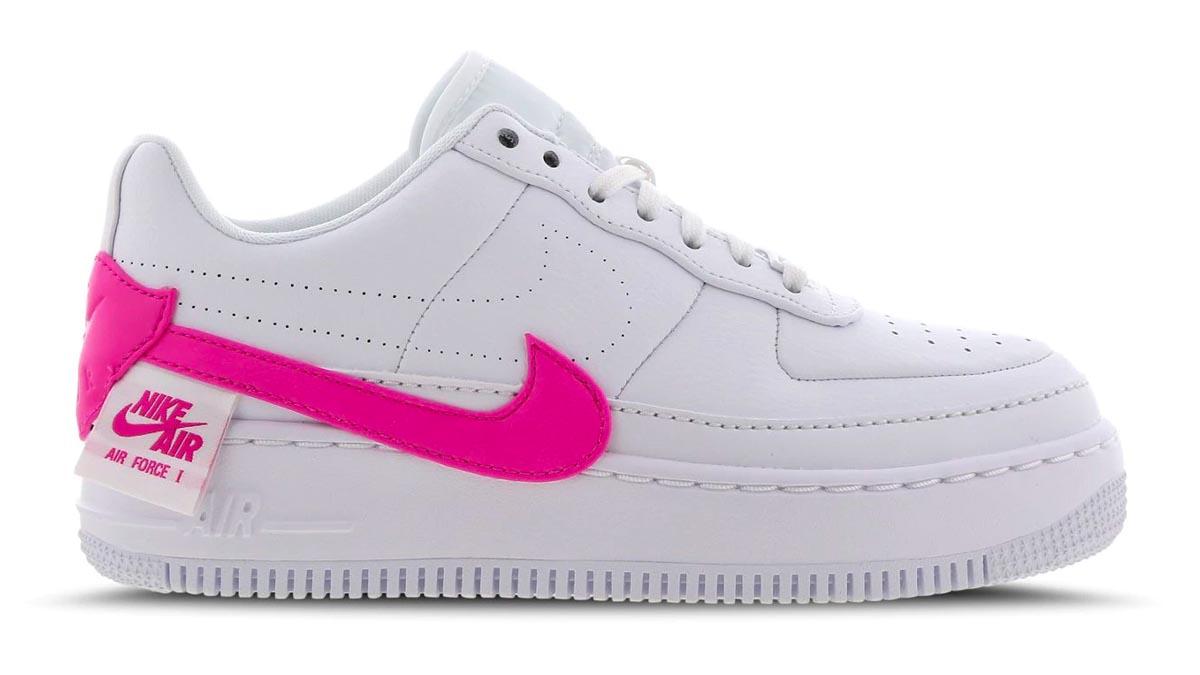 Nike Air Force 1 Jester XX White Laser Fuchsia