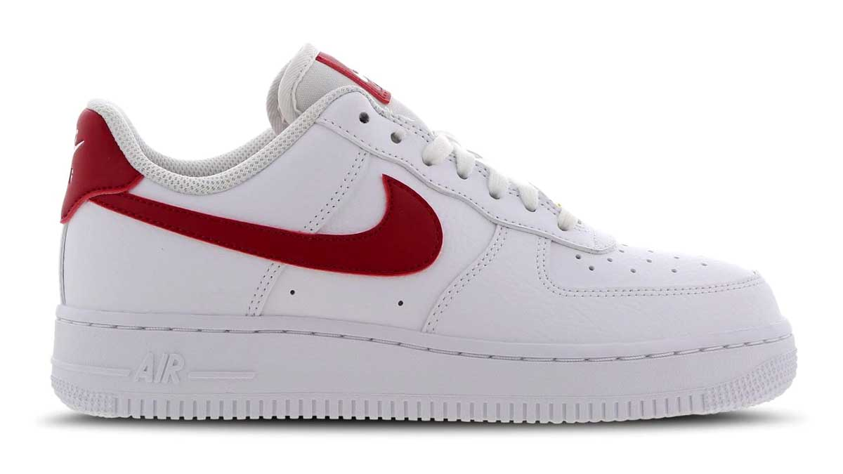 Nike Air force 1 Berry Red Gold