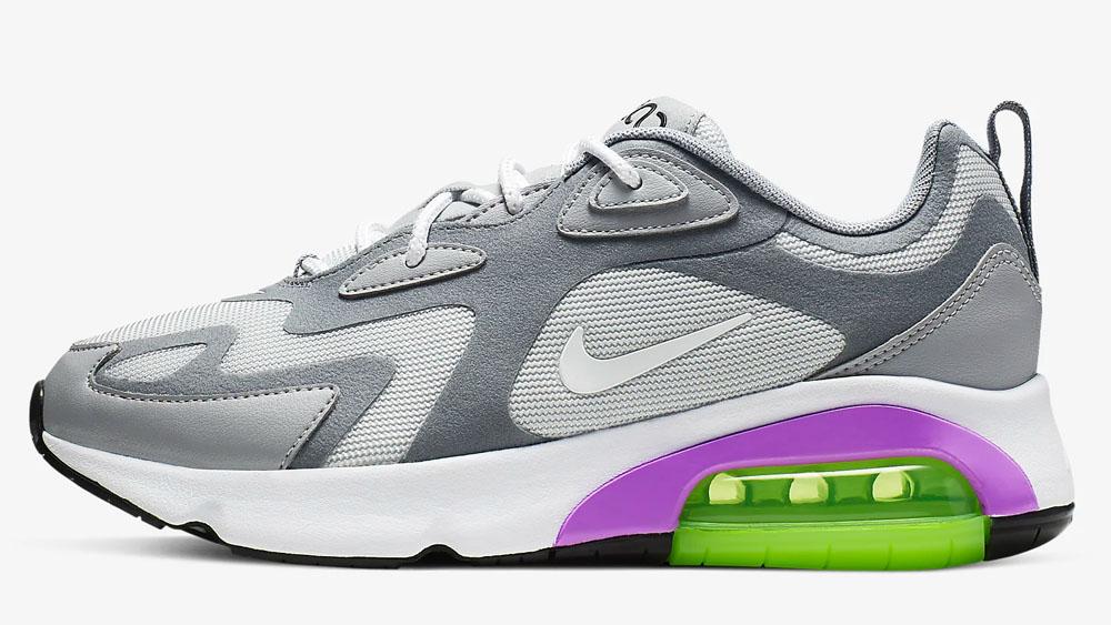 Nike Air Max 200 Purple Grey