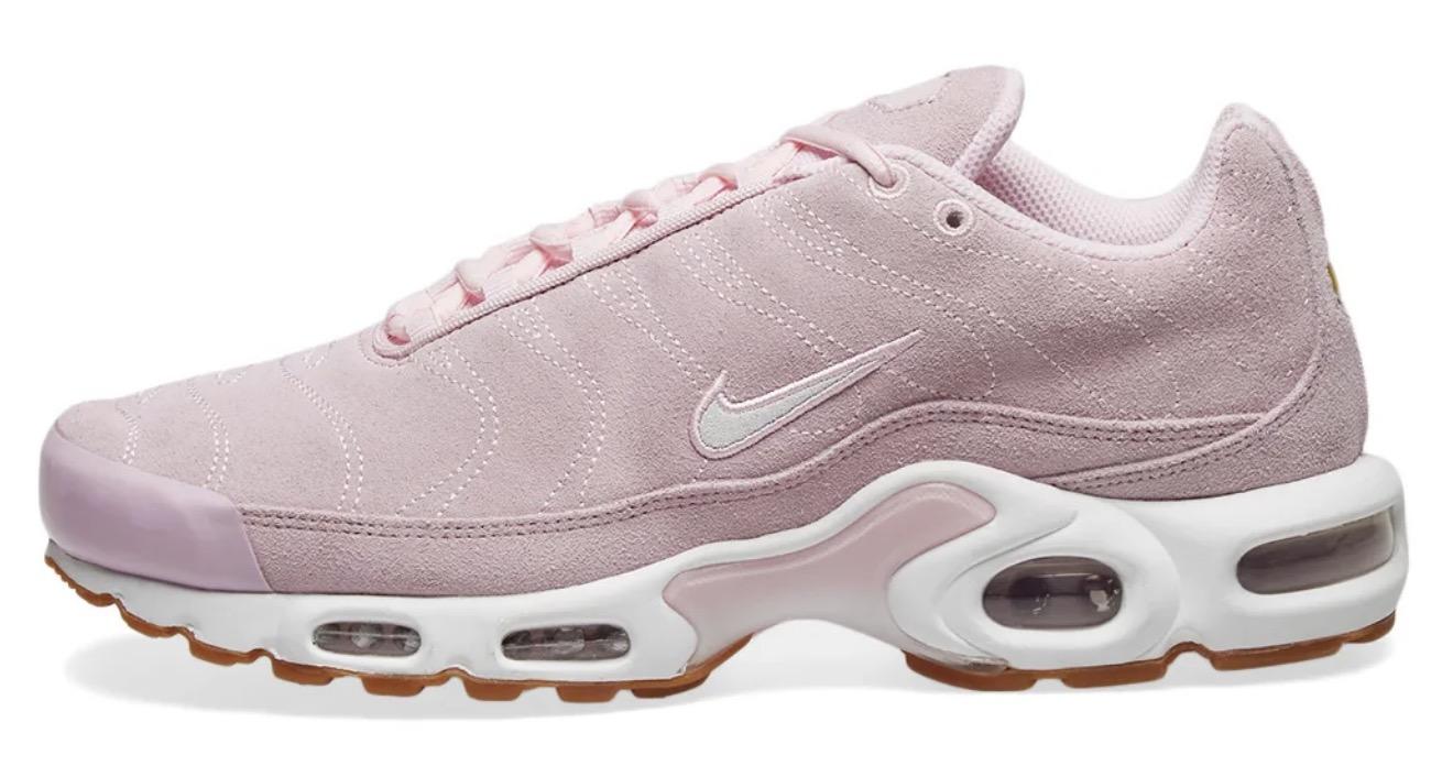 Nike Air Max Plus Suede Pink Foam