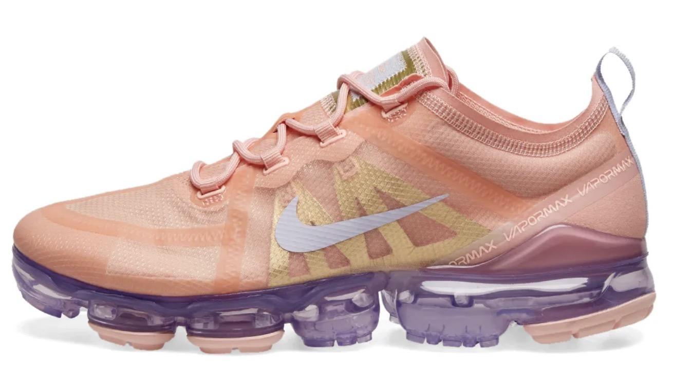 Nike Air VaporMax 2019 Amethyst Tint Bleached Coral