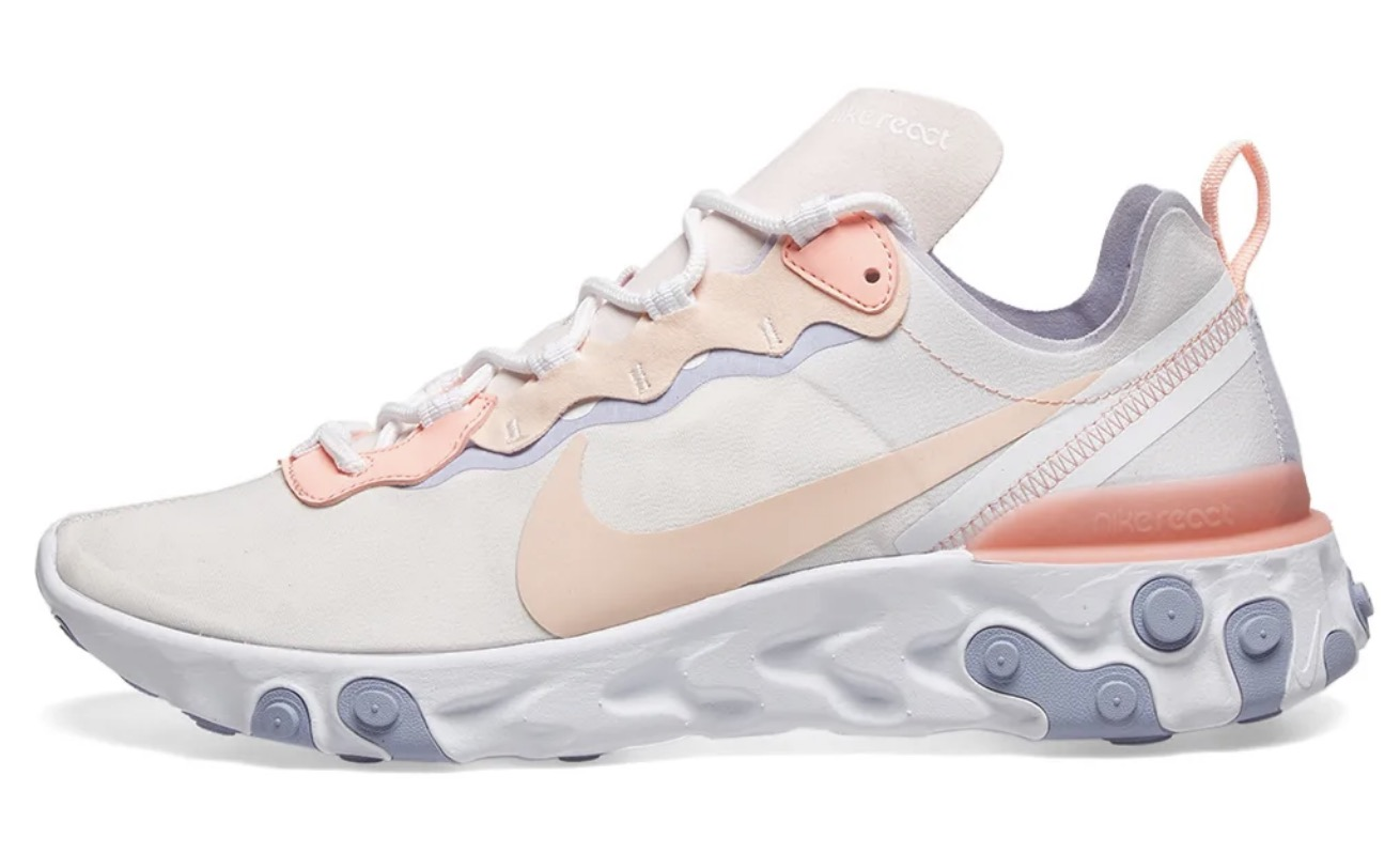 Nike React Element 55 Washed Coral