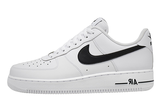 Nike Air Force 1 07 AN20 White Black CJ0952 100Eneste kvinder CJ0952 100 The Sole Womens