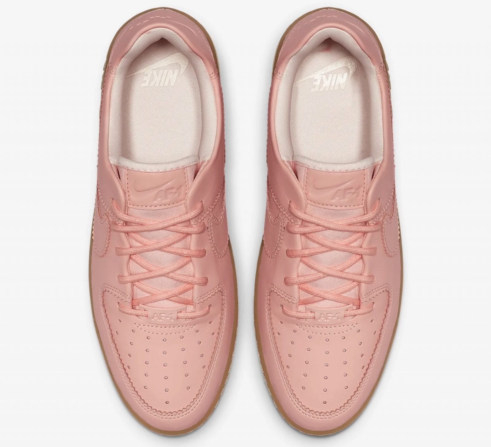 Get Nearly 50% Off This Pink Nike Air Force 1 Sage In Washed Coral 5 above