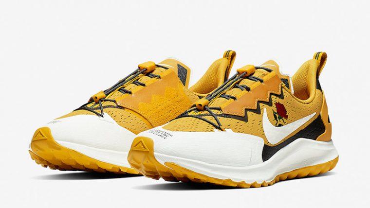 Gyakusou x Nike Air Zoom Pegasus 36 Trail Yellow CD0383-700 03 thumbnail image