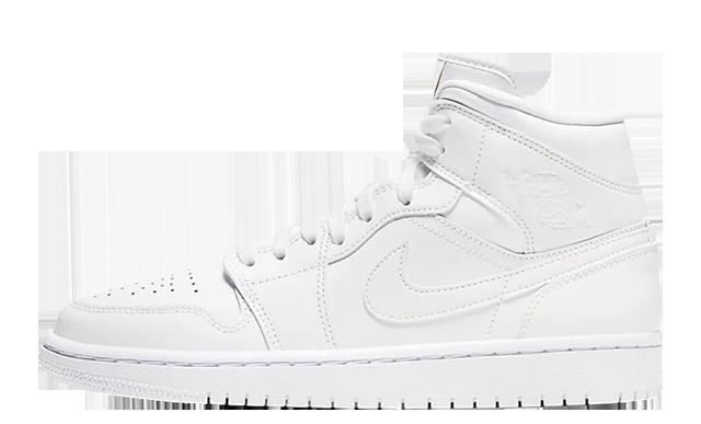 Jordan 1 Mid White BQ6472-112