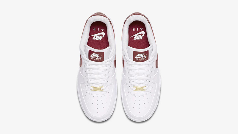 Nike Air Force 1 07 Patent White Red AH0287-110 middle