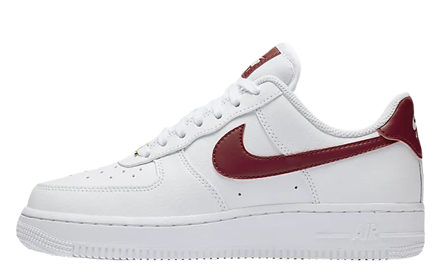 Nike Air Force 1 07 Patent White Red AH0287-110
