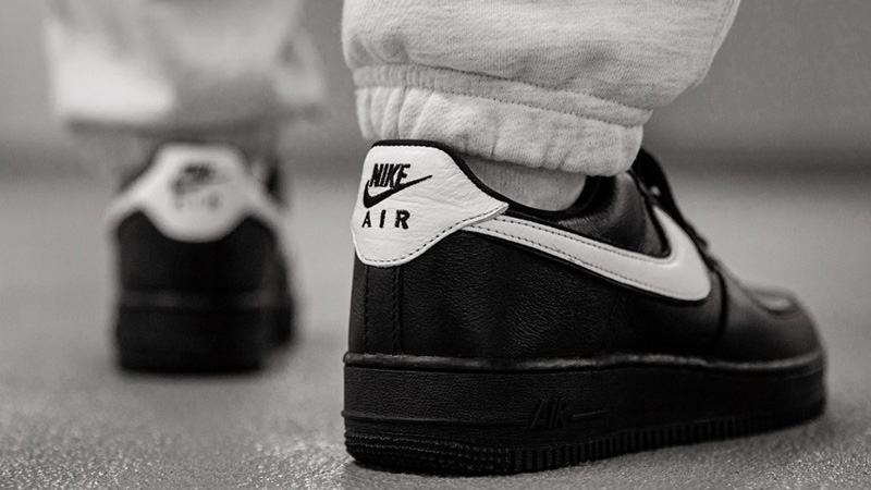 Nike Air Force 1 Black White CQ0492 001Eneste kvinder CQ0492 001 The Sole Womens