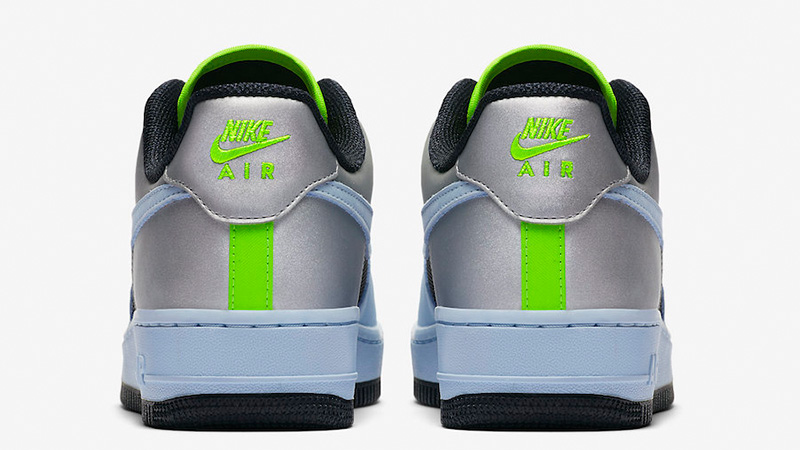 Nike Air Force 1 Low Blue Volt CN0176-400 back