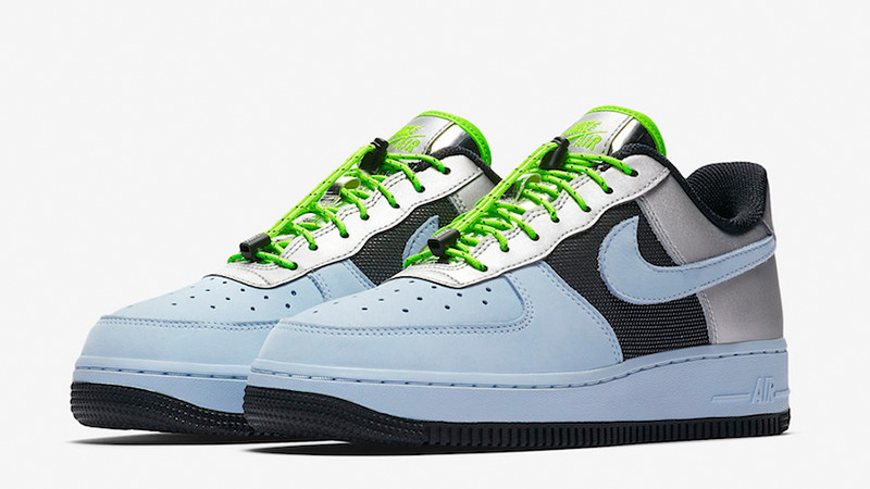 Nike Air Force 1 Low Blue Volt CN0176-400 front