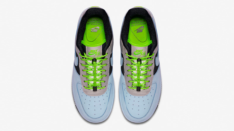 Nike Air Force 1 Low Blue Volt CN0176-400 middle