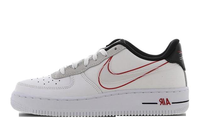 Nike Air Force 1 Low GS Script Swoosh Pack | CK9707 100