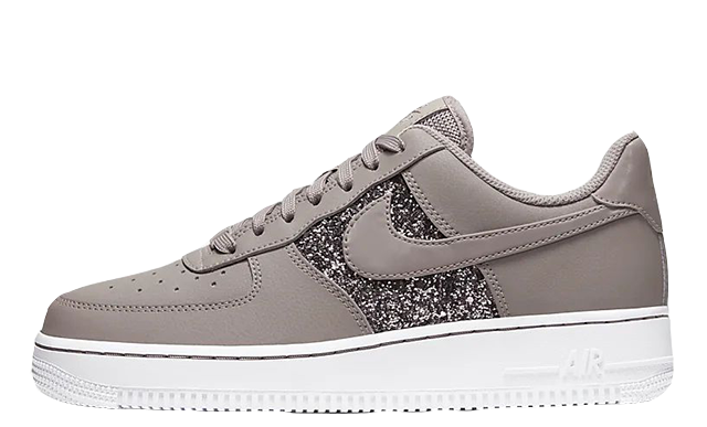 Nike Air Force 1 Low Pumice White Glitter | CQ6364 200