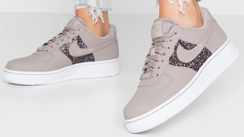 nike air force 1 low glitter donna