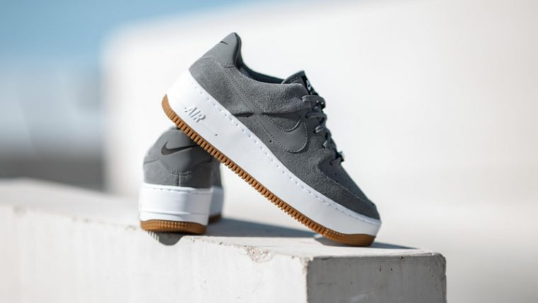 Nike Air Force 1 Sage Cool Grey Lifestyle thumbnail image
