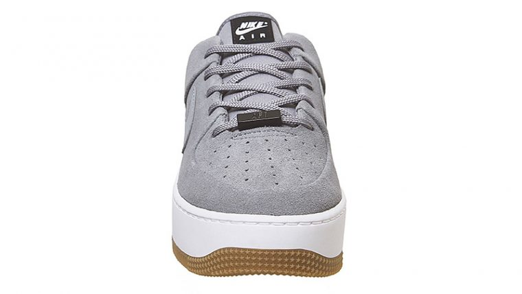 Nike Air Force 1 Sage Cool Grey front thumbnail image