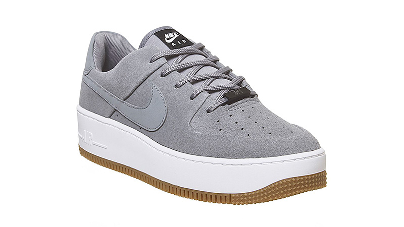 Nike Air Force 1 Sage Cool Grey side
