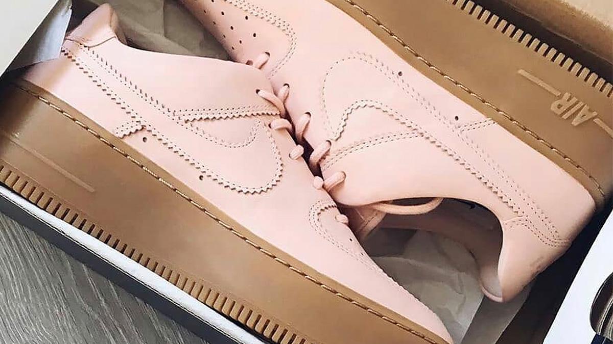 Nike Air Force 1 Sage Coral