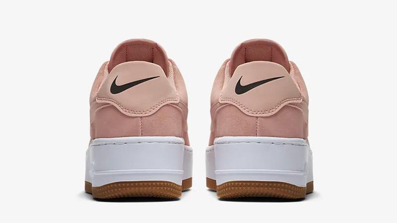 Nike Air Force 1 Sage Low Coral AR5339-603 back