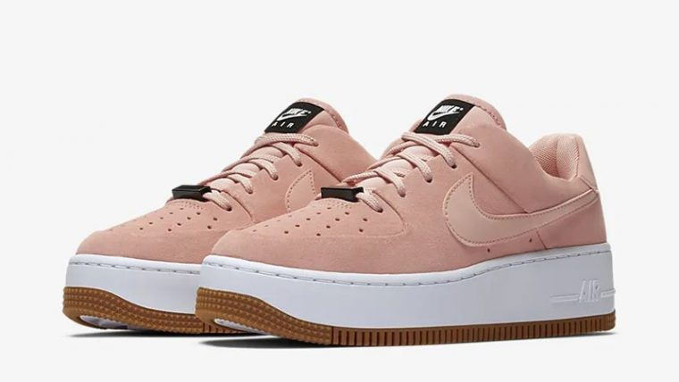 Nike Air Force 1 Sage Low Coral AR5339-603 front thumbnail image