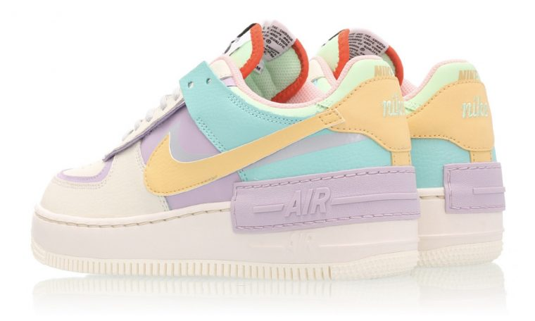 Nike Air Force 1 Shadow Pastel Multi Ci0919 101 The Sole Womens