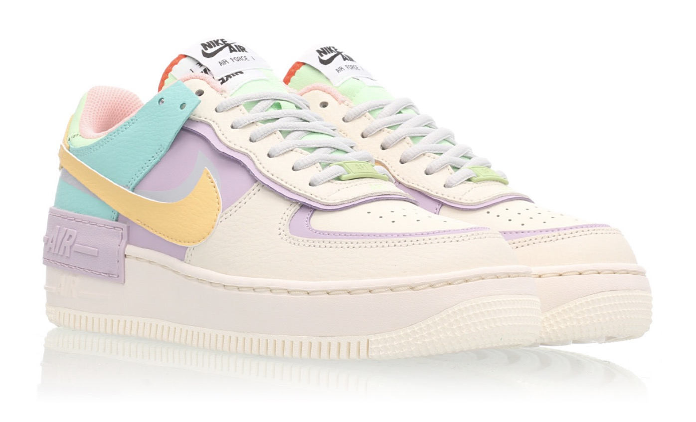 air force 1 nike pastello