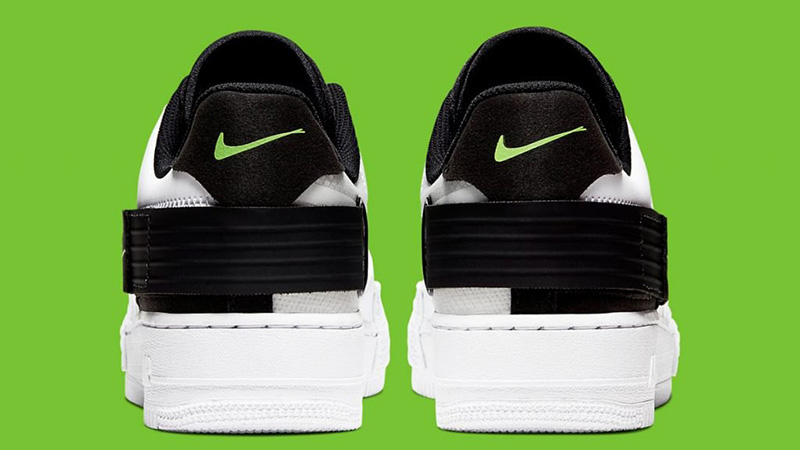 Nike Air Force 1 Type White Black AT7859 101Eneste kvinder AT7859 101 The Sole Womens
