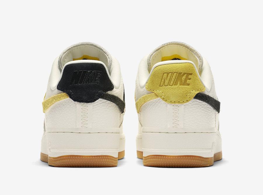 Nike Air Force 1 Vandalised LXX Gold Black | BV0740 101