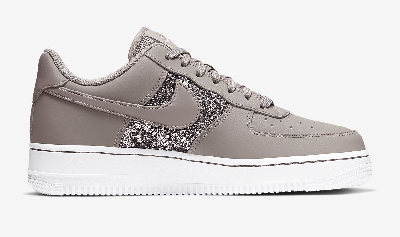 glitter air force ones